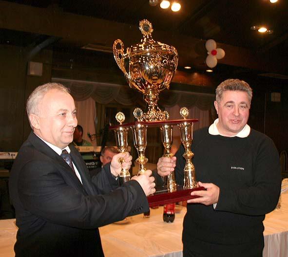 Prošlogodišnji laureat, predsednik (suspendovanog) RK Vranje, Zoran Dimitrijević